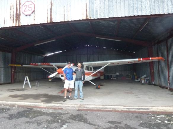 Das kleine Flugzeug mit nur 4 Sitzen