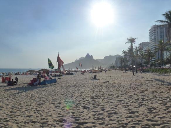 Am Strand von Ipanema...